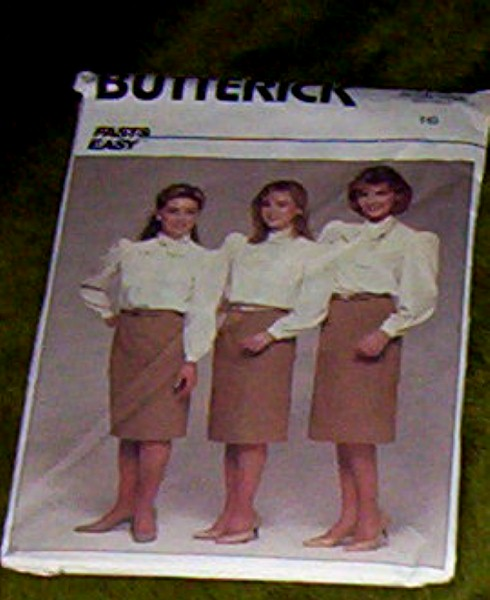 Butterick Pattern 6636