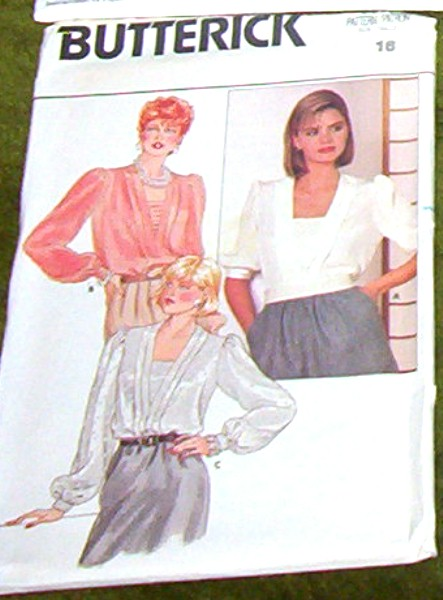 Butterick Pattern 6698