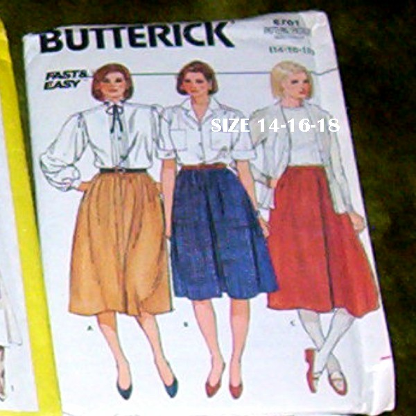Butterick Pattern 6701