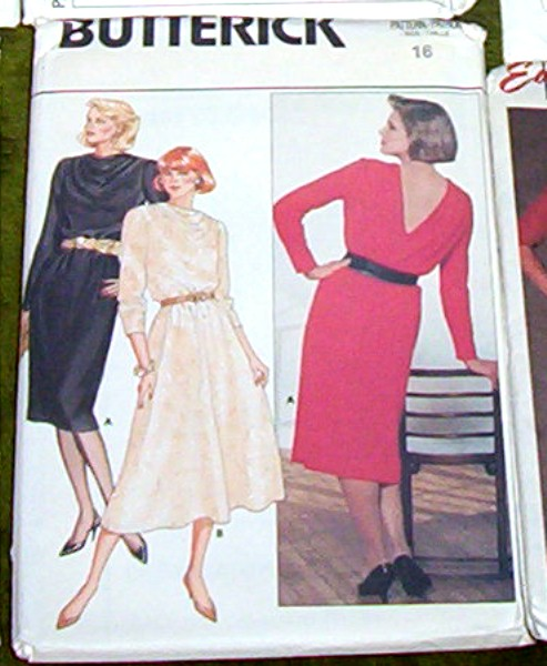 Butterick Pattern #6757