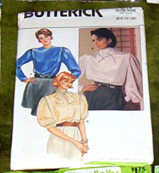 Butterick Pattern #6778