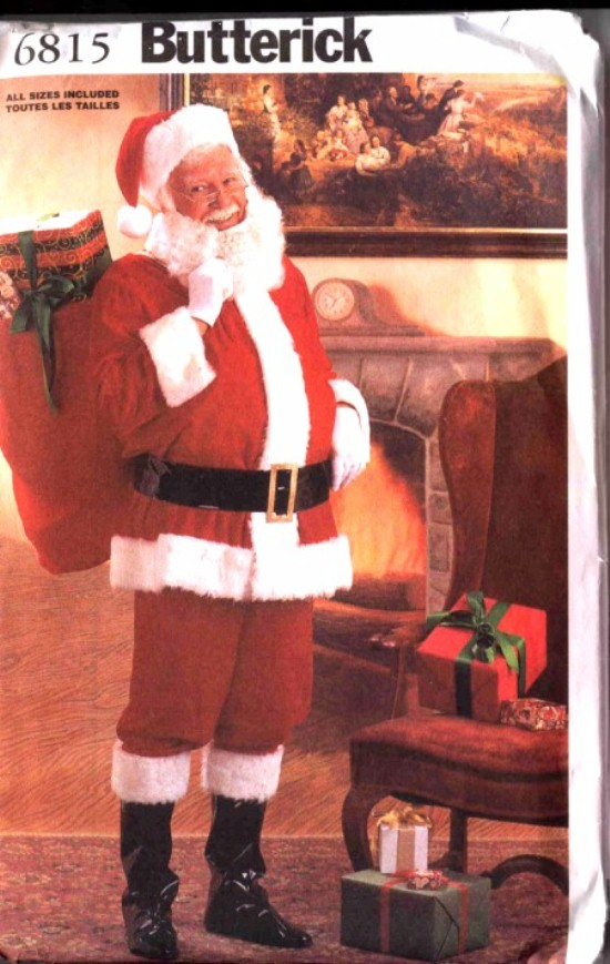 Butterick Santa Claus Costume Pattern #6815