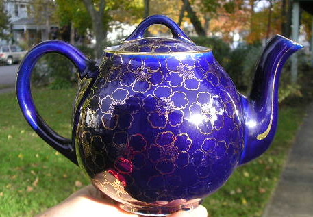 Hall Blue French Teapot