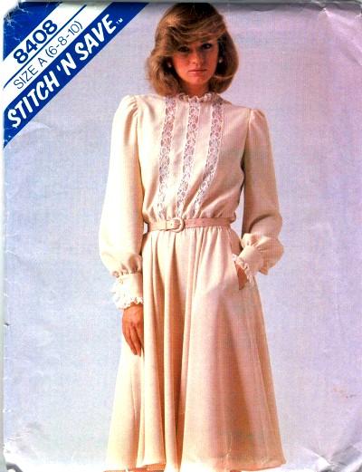 McCalls Misses Dress Pattern #8408