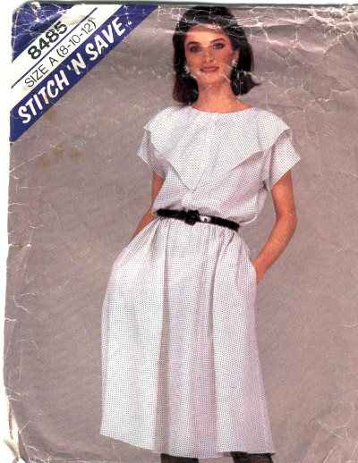 McCalls Misses Top and Skirt Pattern #8485