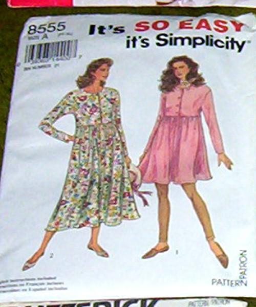 Simplicity Pattern #8555