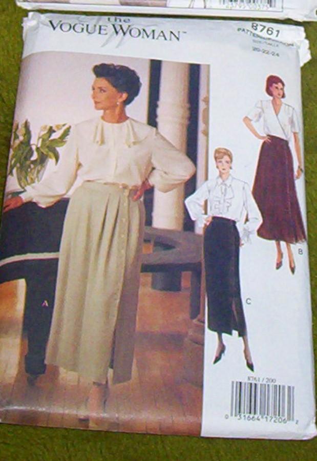 Vogue Pattern #8761